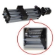 Linear Actuator THK90 - Ballscrew Slide Twin Round Shaft, 0.2meter