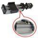 Linear Actuator DHK90 - Ballscrew Slide Twin Round Shaft, 0.4meter