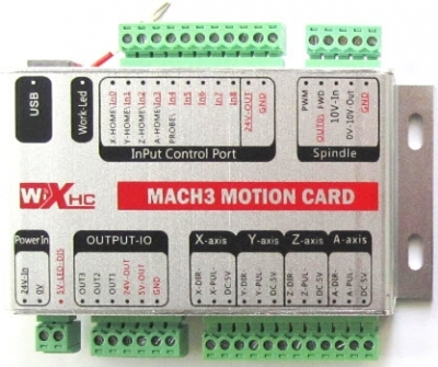 CNC Mach3 Card Controller USB New White Box,3-axis