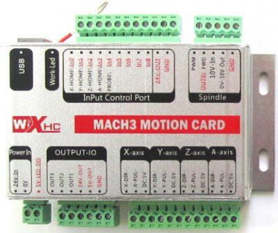 CNC Mach3 Card Controller USB New White Box,3-axis