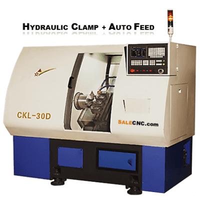 CNC Lathe LCK30D Auto Feed Turning Machine