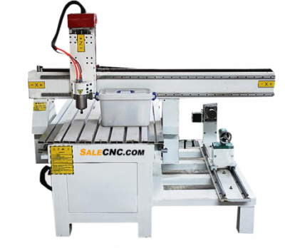 CNC Router Milling aXJ6090-LXR with Extended Rotary