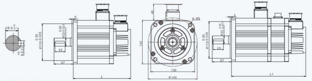 Installation Dimension Unit=mm
