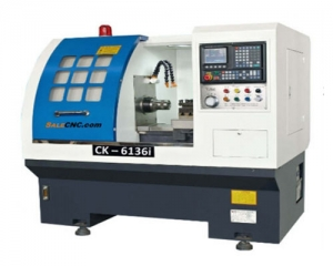 CNC Lathe Turning Hydraulic Clamp Machine CK6145i