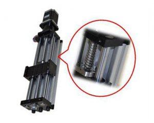 Linear Actuator THK90 – Ballscrew Slide Twin Round Shaft, 0.6meter