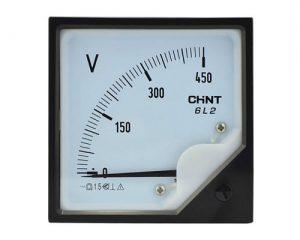 Mounted AC Voltmeter