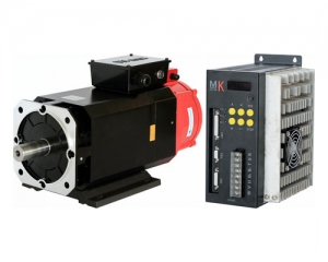 Servo Motor & Drive 5.5KW 35Nm 1500rpm 204support