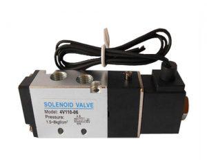 Two five-way solenoid valve. Grommet DC12V DC24V AC24V AC110V AC220V