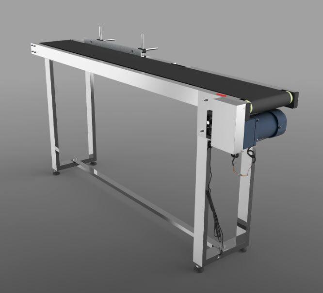 Conveyor adjustable speed